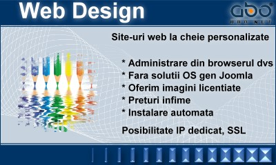 Web Design BUSINESS Hosting site domenii inregistrari .net